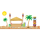 Surfs Up Board Bulletin Display Set Alternate Image A