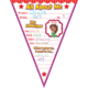 All About Me Pennants Bulletin Board Display Set Alternate Image A