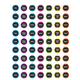 Chalkboard Brights Mini Stickers Alternate Image A