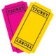 Bright Colors Tickets Mini Accents Alternate Image A'}