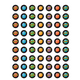 Stellar Space Mini Stickers Alternate Image A