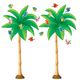 Tropical Trees Bulletin Board Display Set Alternate Image A