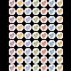 Flip Flops Mini Stickers Alternate Image A
