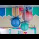 Watercolor Hanging Paper Lanterns Alternate Image A