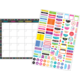 Clingy Thingies Chalkboard Brights Calendar Set Alternate Image A