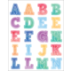 Watercolor Alphabet Stickers Alternate Image A