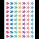 Watercolor Stars Mini Stickers Alternate Image A