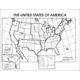 The United States Map Activity Posters Alternate Image A
