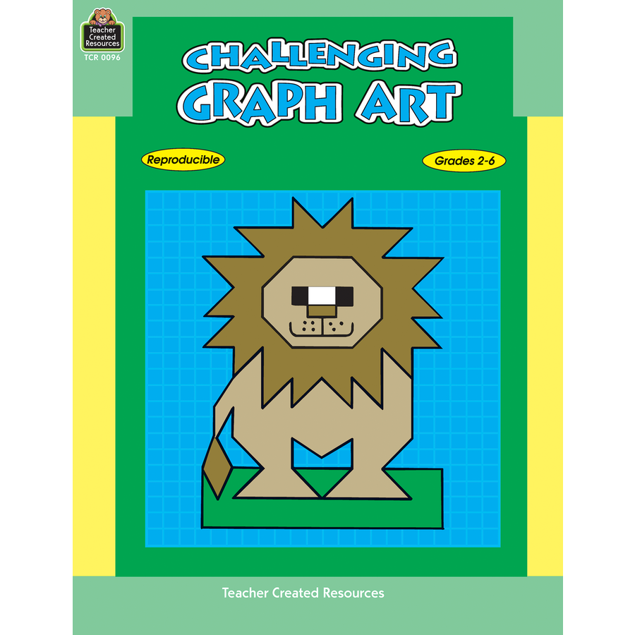 Worksheets Teacher Created Materials Inc Worksheets challenging graph art tcr0096 teacher created resources image
