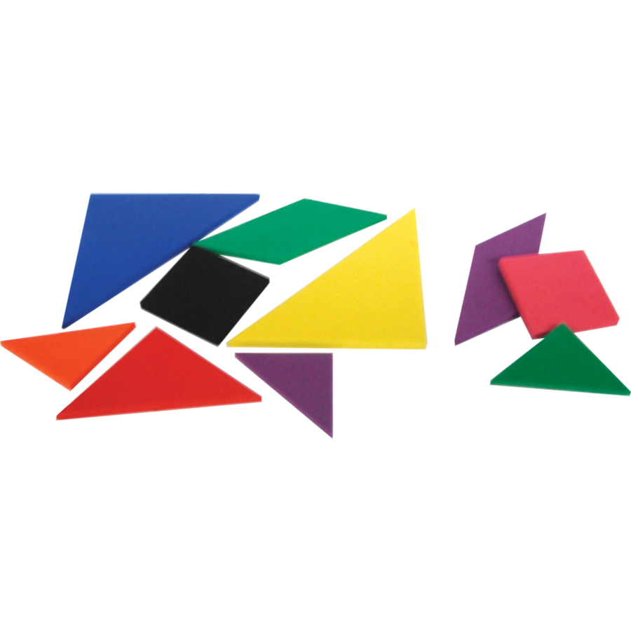 foam tangrams  tcr20610  teacher created resources