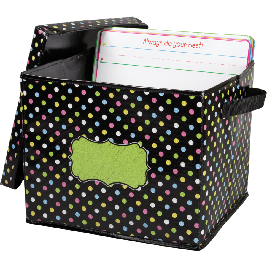 ... Chalkboard Brights Storage Box Alternate Image A