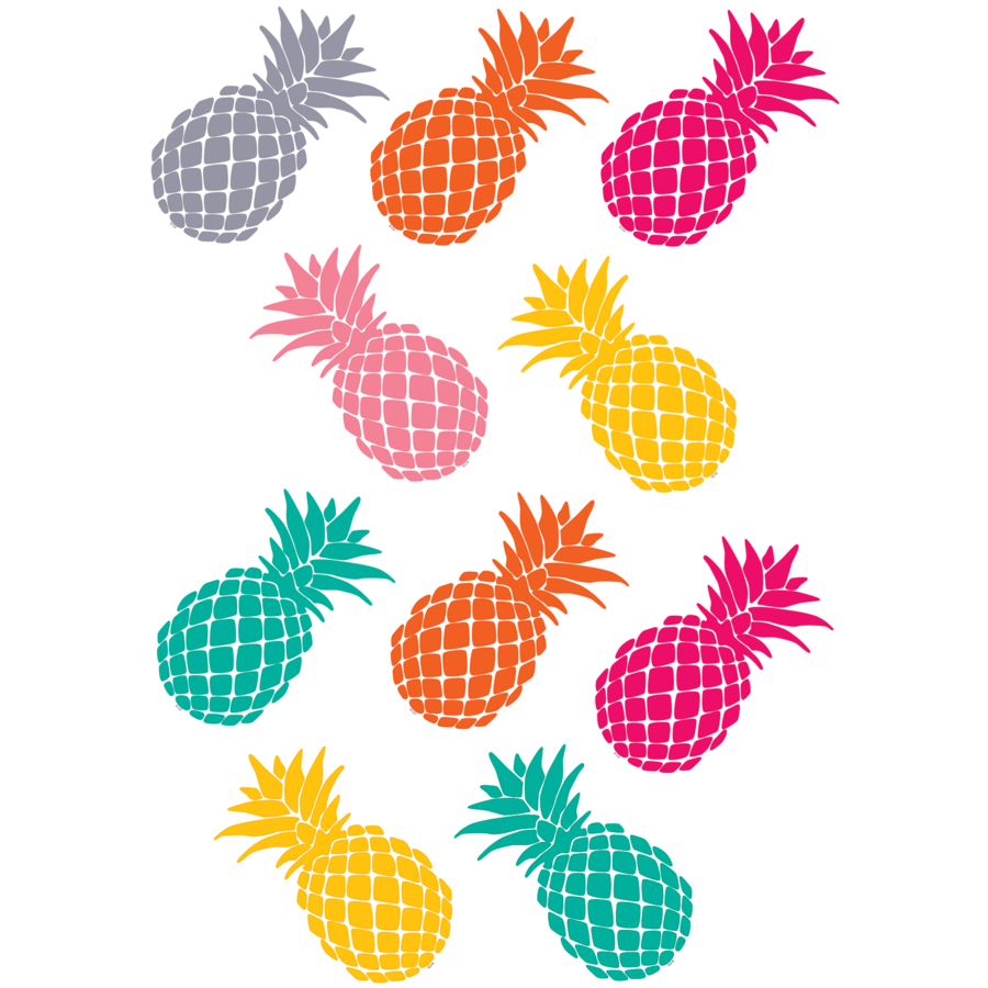 Tropical Punch Pineapples Accents - TCR2156 | Teacher