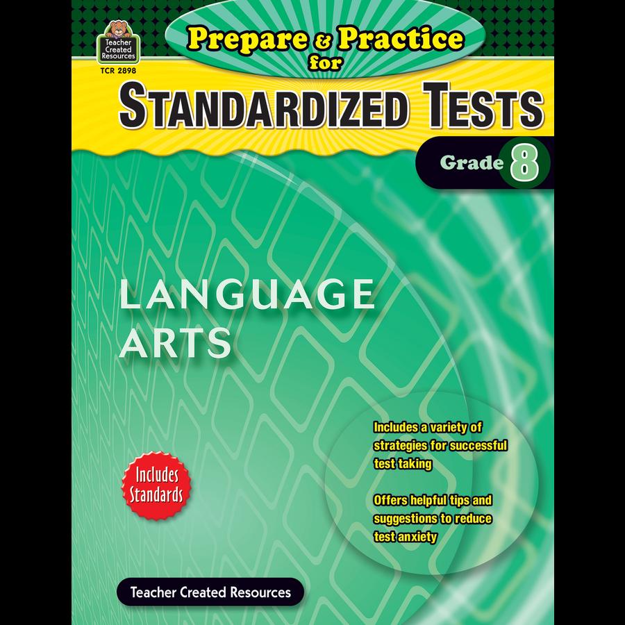 Prepare & Practice for Standardized Tests: Lang Arts Grade 8 ...