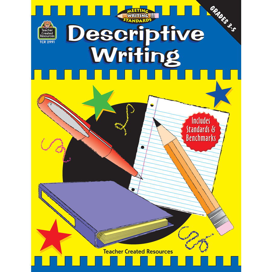 descriptive writing grades 3 5 meeting writing standards series