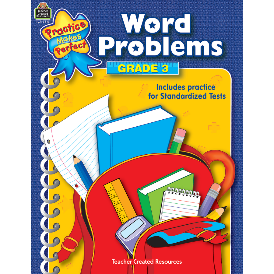 Word Problems Grade 3 - TCR3313 | Teacher Created Resources