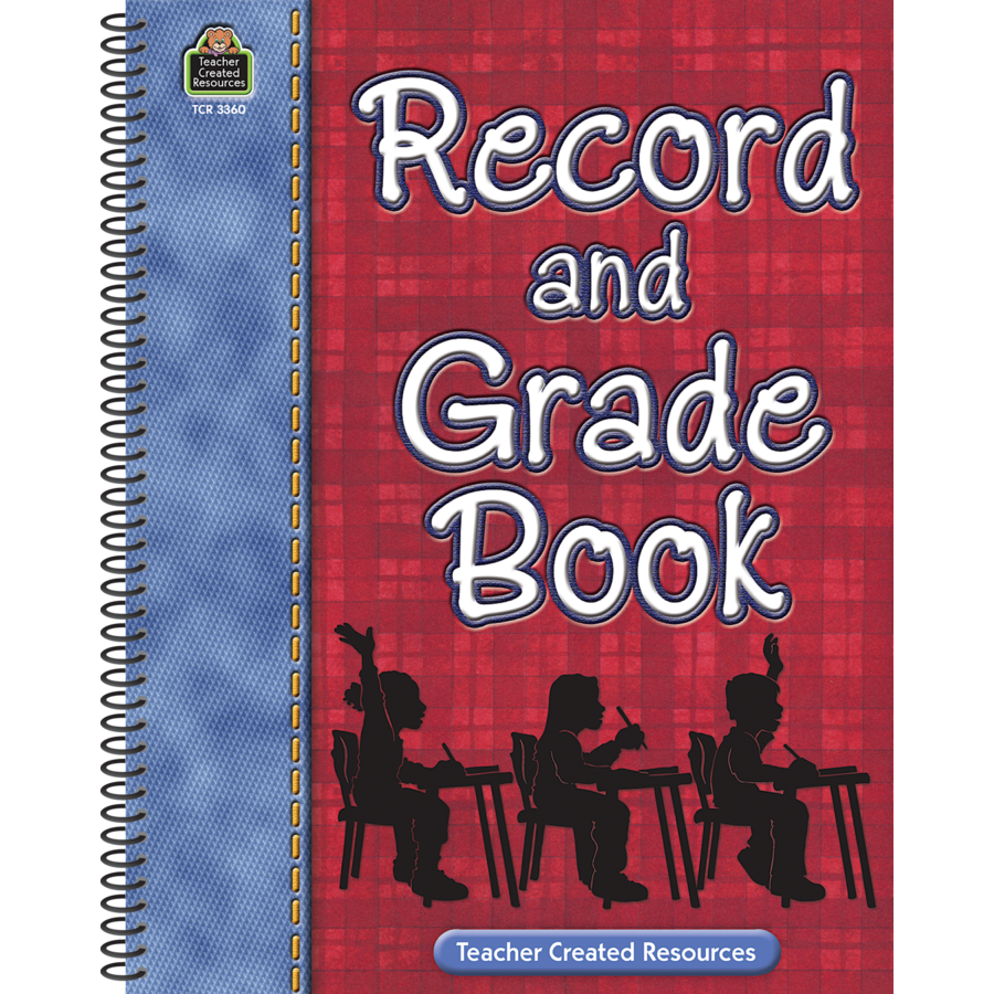record grade book tcr3360 teacher created resources