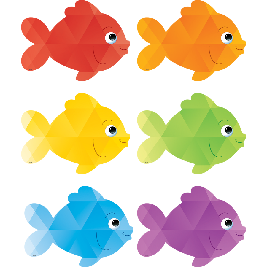 Colorful Fish Accents - TCR3549 | Teacher Created Resources