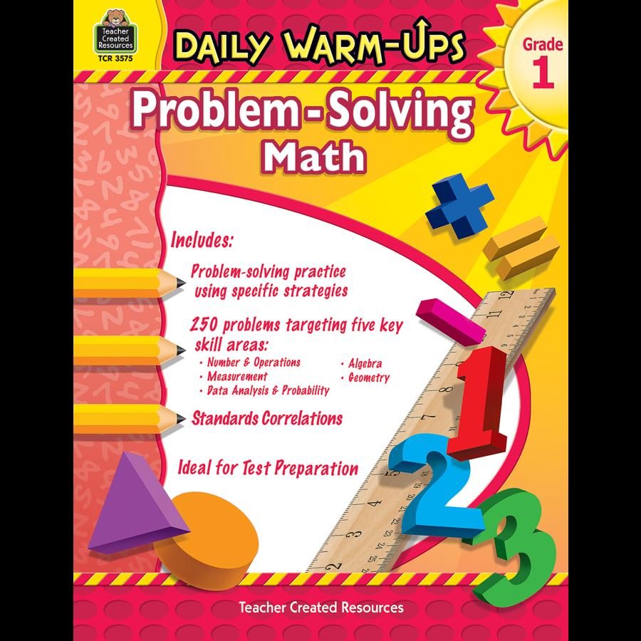Daily Warm-Ups: Problem Solving Math Grade 1 - TCR3575 | Teacher ...