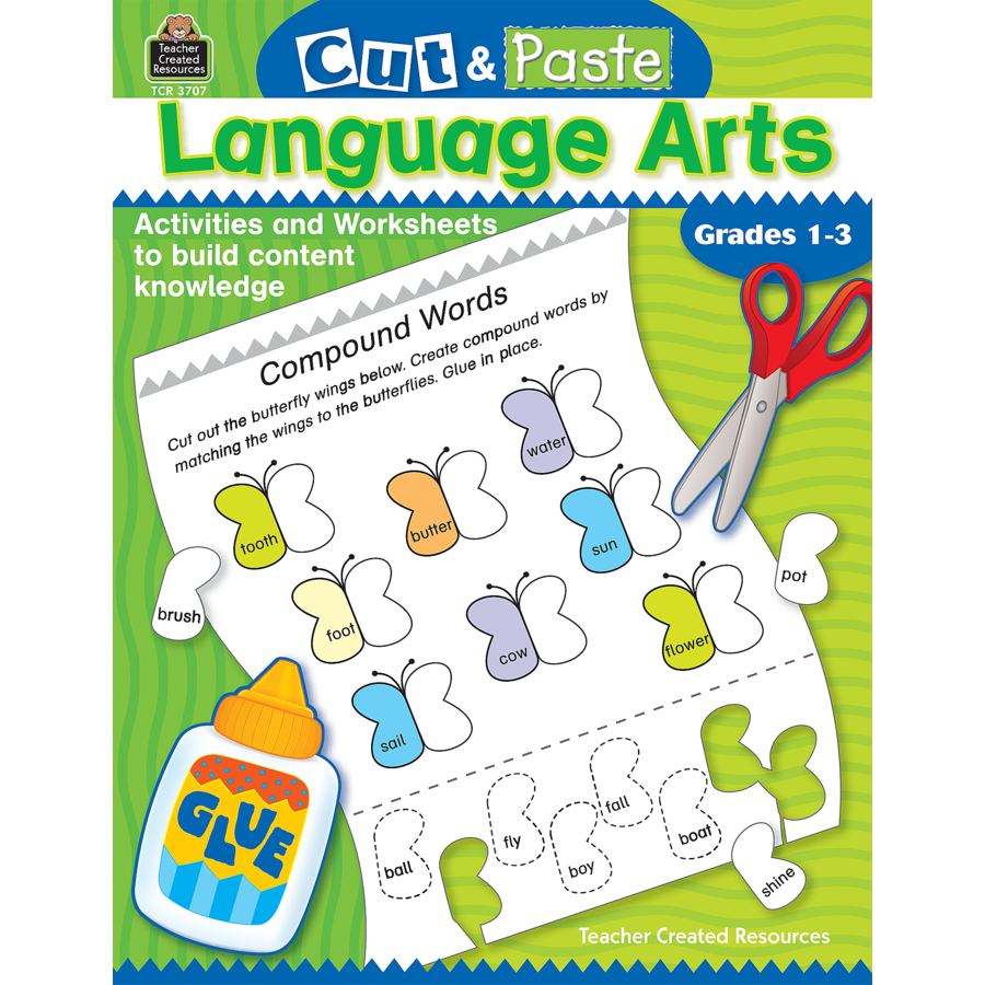 Cut and Paste: Language Arts - TCR3707 | Teacher Created Resources