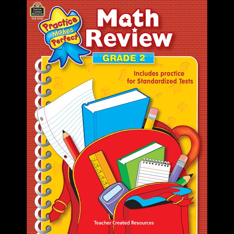 Math Review Grade 2 - TCR3742 | Teacher Created Resources