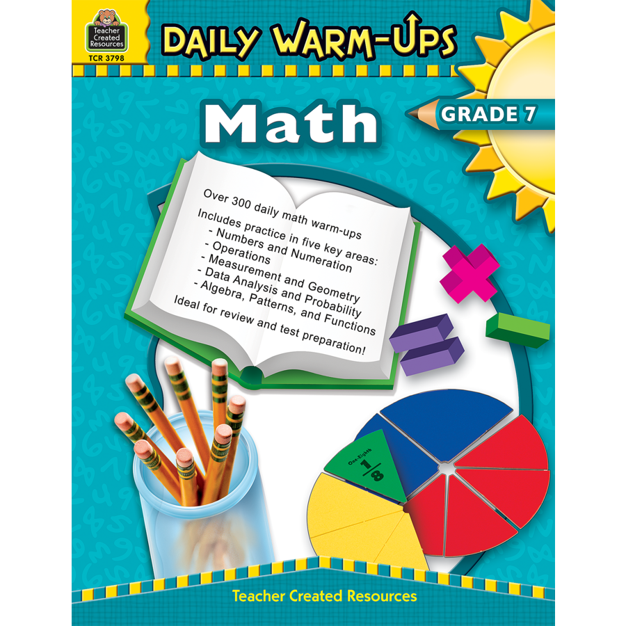 Daily Warm-Ups: Math Grade 7 - TCR3798 | Teacher Created Resources