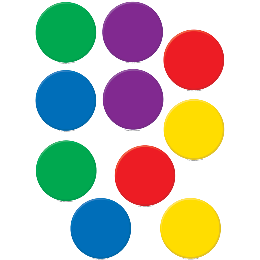 colorful circles accents tcr4110 teacher created resources free classroom clipart winter free classroom clipart monsters