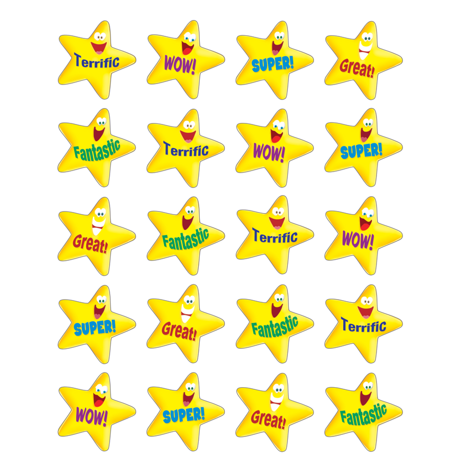 Encouraging stars stickers tcr5126 teacher created for Images of stars for kids