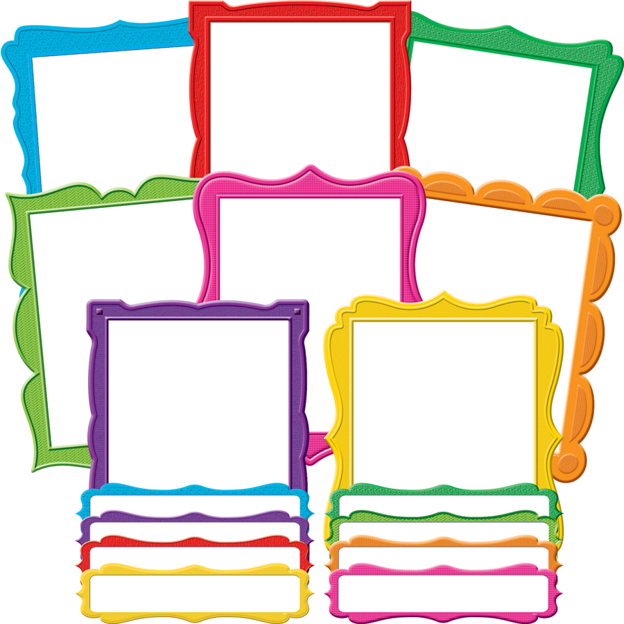Fancy Frames Bulletin Board Display Set - TCR5628 | Teacher Created ...