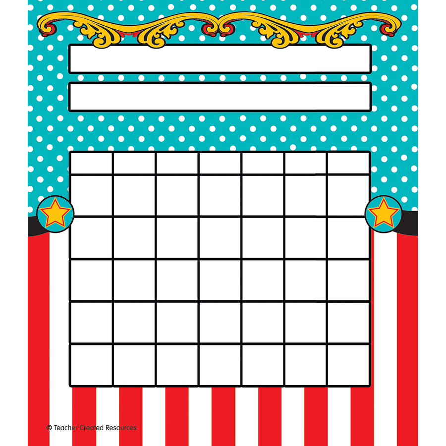 Carnival incentive charts tcr5717 teacher created resources