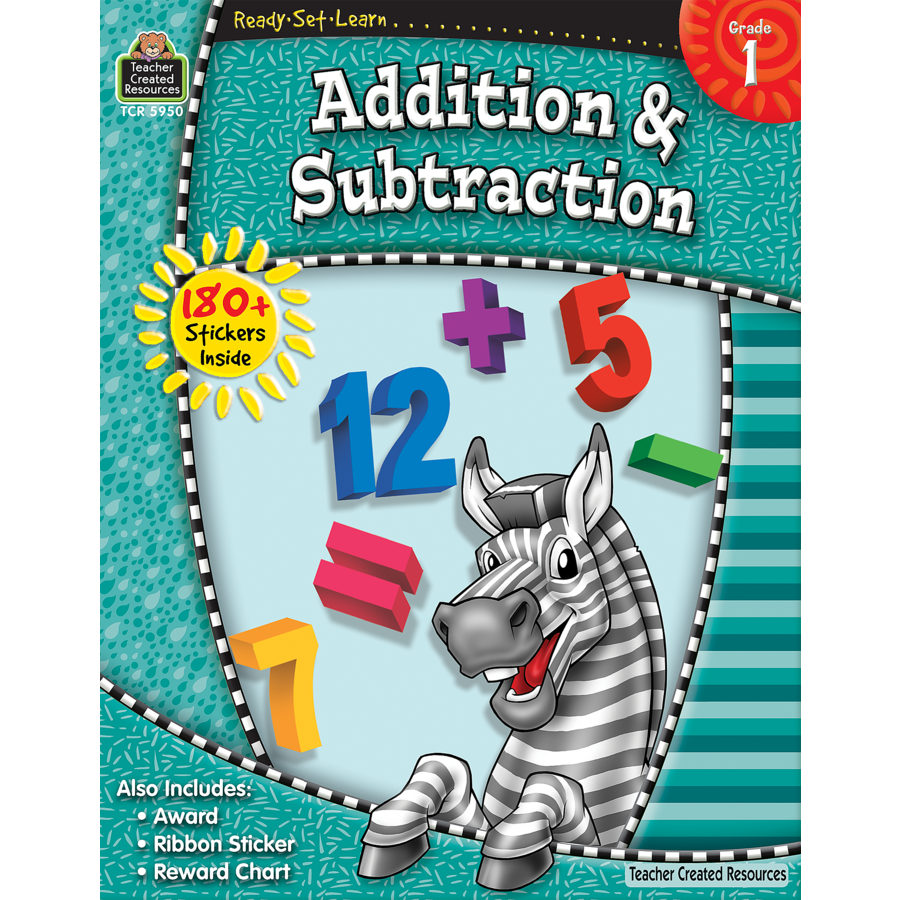 Ready-Set-Learn: Addition & Subtraction Grade 1 - TCR5950 | Teacher ...