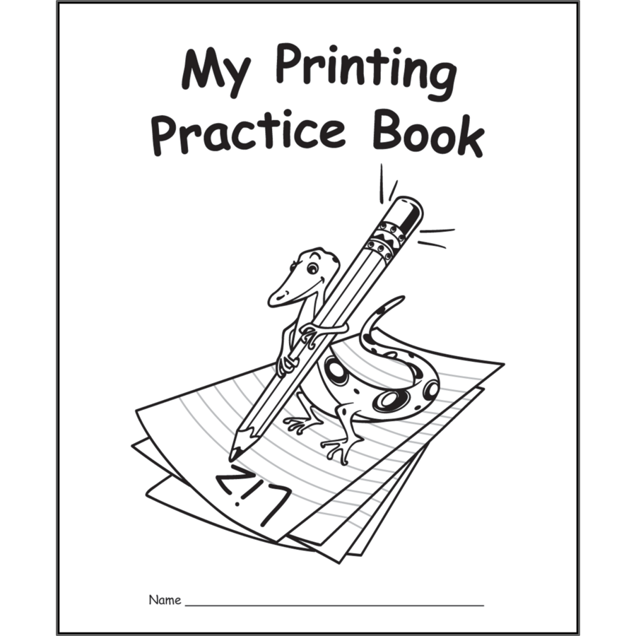 my own printing practice book tcr60031 teacher created resources