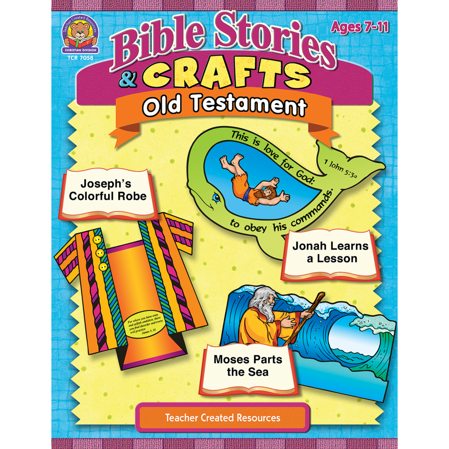 TCR7058 Bible Stories Crafts Old Testament Image