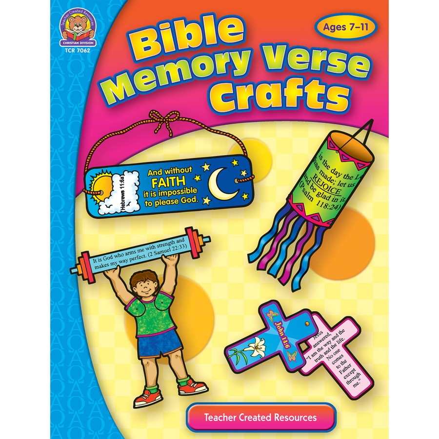 Bible Memory Verse Crafts Tcr7062 Teacher Created Resources