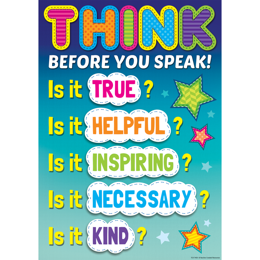 before you speak think pdf