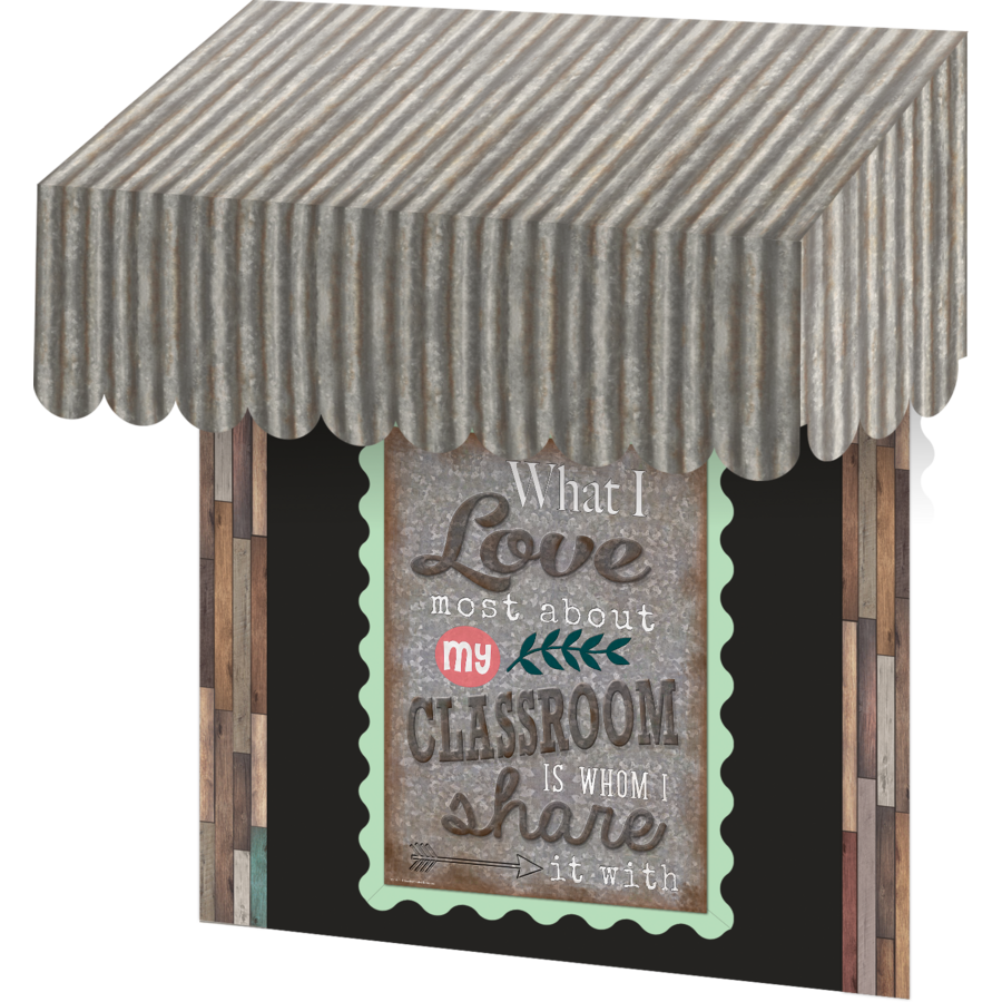 Super Corrugated Metal Awning - TCR77180 | Teacher Created Resources RE27