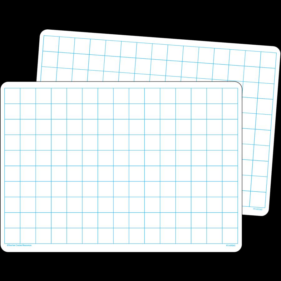 Math Grid Dry Erase Boards (set of 10) - TCR77253 | Teacher Created ...
