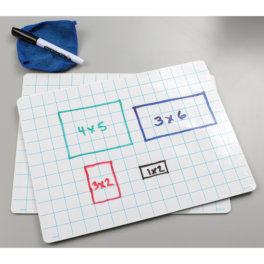 Double Sided Math Grid Dry Erase Boards Tcr77253