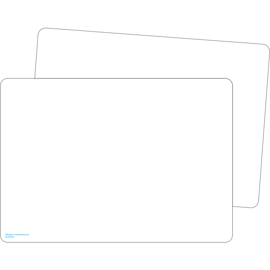 Double Sided Premium Blank Dry Erase Boards Tcr77891