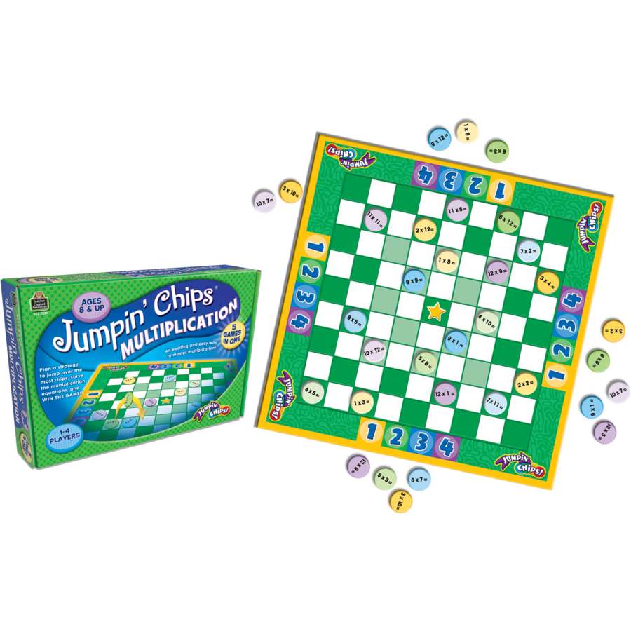 Jumpin Chips: Multiplication - TCR7839 | Teacher Created Resources