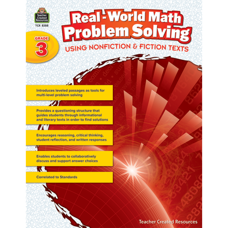 Real-World Math Problem Solving Grade 3 - TCR8388 | Teacher Created ...