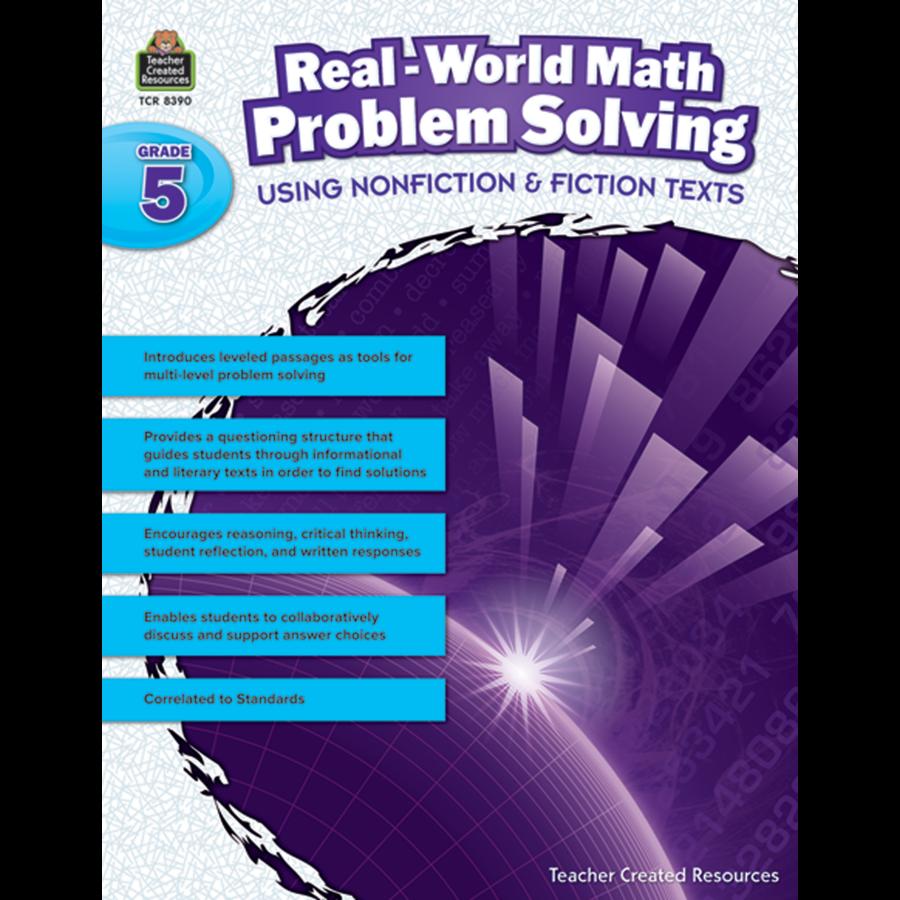 Real-World Math Problem Solving Grade 5 - TCR8390 | Teacher Created ...