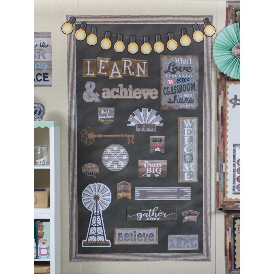 Classroom Decor Sets ~ Home sweet classroom wall decor bulletin board display set