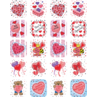 TCR1258 Valentine's Day Stickers