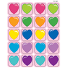 TCR1807 Hearts Stickers