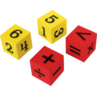 TCR20607 Foam Numbers & Operations Dice