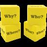 TCR20614 Foam Question Cubes