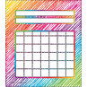 TCR3072 Colorful Scribble Incentive Charts Pack