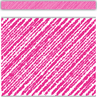 TCR3416 Hot Pink Scribble Straight Border Trim