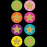 TCR3602 Confetti Stars Mini Stickers