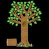 TCR4405 Seasonal Tree Bulletin Board Display Set